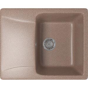 Кухонная мойка Mixline ML-GM26 47х58 терракотовый 307 (4630030636526) кухонная мойка mixline ml gm26 47х58 серый 310 4630030636403