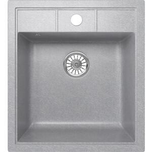 Кухонная мойка Mixline ML-GM28 44,5х50 графит 342 (4620031446569)