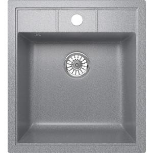 Кухонная мойка Mixline ML-GM28 44,5х50 темно-серый 309 (4620031446712) кухонная мойка mixline ml gm10 44х44 бежевый 328 4630030632719