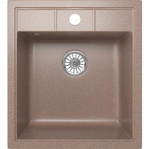 Кухонная мойка Mixline ML-GM28 44,5х50 терракотовый 307 (4620031446743) кухонная мойка mixline ml gm10 44х44 бежевый 328 4630030632719