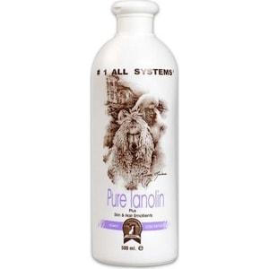 Кондиционер 1 All Systems Pure Lanolin Plus Skin & Hair Emollient с ланолином смягчающий для кожи и шерсти кошек и собак 500мл протеин pure protein протеин pure protein soy isolate натуральный 900 г