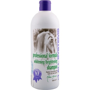 Шампунь 1 All Systems Professional Formula Whitening / Brightening Shampoo отбеливающий для яркости окраса шерсти кошек и собак 500мл