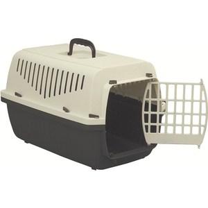 Переноска Marchioro SKIPPER 1P коричнево-бежевая с пластиковой дверцей 48x32x31h см для животных стул трансформер для кормления мишутка c h p 32 orange