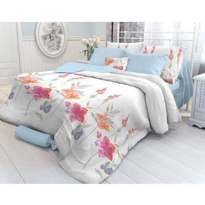 Комплект постельного белья Verossa 1,5 сп, перкаль, Color flowers, с наволочками 70х70 (707889) постельное белье sofi de marko макбет розовый евро стандарт