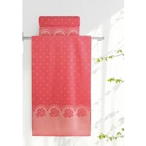 Полотенце Aquarelle Розы, розово-персиковый - коралл 70х140 (710680)