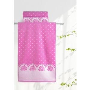Полотенце Aquarelle Розы, нежно розовый - орхидея 70х140 (710681) полотенце для ванной lt green 70х140 см