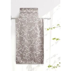 Полотенце Aquarelle Форест , мокко - светло-бежевый 70х140 (711911) полотенца arya полотенце apollo цвет бежевый 70х140 см