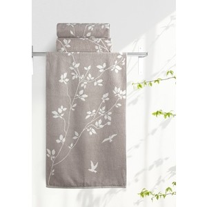 Полотенце Aquarelle Форест, мокко - светло-бежевый 70х140 (711912) полотенца arya полотенце apollo цвет бежевый 70х140 см