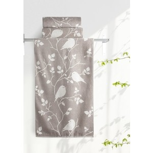 Полотенце Aquarelle Форест, мокко - светло-бежевый 70х140 (711913) полотенца arya полотенце apollo цвет бежевый 70х140 см