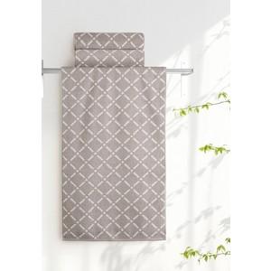 Полотенце Aquarelle Бергамо, мокко - светло-бежевый 70х140 (712670) полотенце махровое 70х140 см tac полотенце махровое 70х140 см