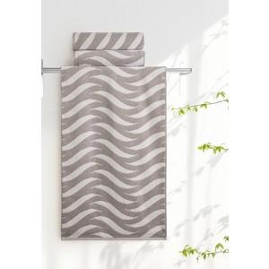 Полотенце Aquarelle Бергамо, мокко - светло-бежевый 70х140 (712671) полотенце махровое 70х140 см tac полотенце махровое 70х140 см