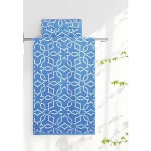 Полотенце Aquarelle Стамбул, белый-спокойный синий 70x140 (710397) обухова а путеводитель стамбул