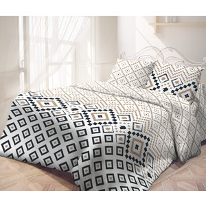 цена Комплект постельного белья Самойловский текстиль 2-х сп, бязь, с наволочками 50х70 (714218)