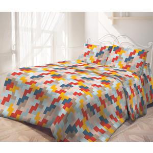 Комплект постельного белья Самойловский текстиль Евро, бязь, с наволочками 50х70 (714186)