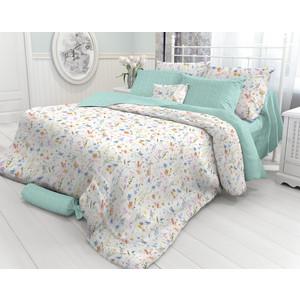 все цены на Комплект постельного белья Verossa 1,5 сп, перкаль, Wildflowers, 2 наволочки 50x70 (718716) онлайн