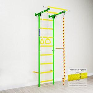 Детский спортивный комплекс Romana Karusel S1 (ДСКМ-2С-8.06.Г3.490.18-13) зелёное яблоко мягкие кресла romana пуфик макака