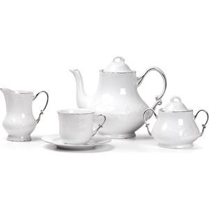 Сервиз чайный 15 предметов La Rose des Sables Vendange Platine (699509 0019) vendange new fashion linen