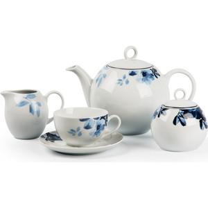Сервиз чайный 15 предметов La Rose des Sables Jardin Bleu Monalisa (559511 1780)