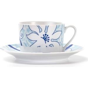 Набор чайных пар 0.22 л 12 предметов La Rose des Sables Bleu Sky (539506 2230)