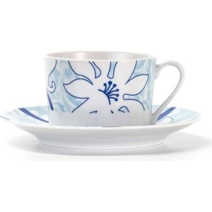 Набор чайных пар 0.22 л 12 предметов La Rose des Sables Bleu Sky (539506 2230) набор чайных пар 0 22 л 12 предметов la rose des sables zen 839007 2130