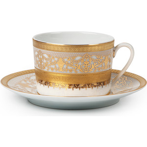 Набор чайных пар 0.22 л 12 предметов La Rose des Sables Mimosa Didon Or (539506 1645) сервиз столовый 25 предметов la rose des sables mimosa didon or 539825 1645
