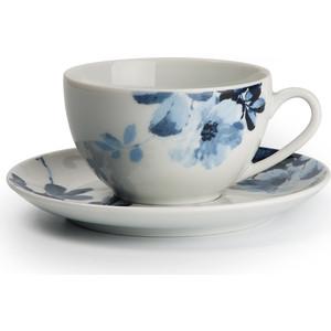 Набор чайных пар 0.22 л 12 предметов La Rose des Sables Jardin Bleu Monalisa (619501 1780)