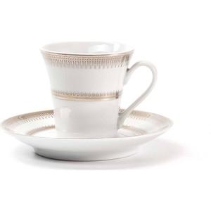 Набор чайных пар 0.22 л 12 предметов La Rose des Sables Princier Platine (739507 1801) удлинитель старт s 3x7 z