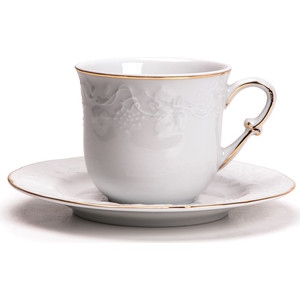 Набор чайных пар 0.22 л 12 предметов La Rose des Sables Vendange D'or (699506 1009)