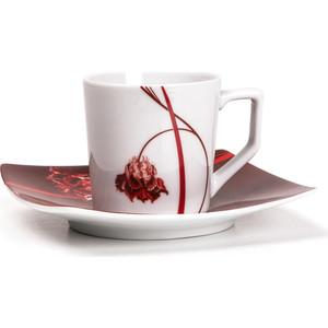 Набор кофейных пар 0.1 л 12 предметов La Rose des Sables Kyoto (719012 0753)