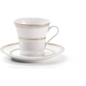 Набор кофейных пар 0.1 л 12 предметов La Rose des Sables Princier Platine (739606 1801) 6 кофейных пар 100мл париж royal porcelain 6 кофейных пар 100мл париж