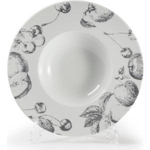 Тарелка глубокая 27 см La Rose des Sables Black Apple (830727 2241) тарелка 27 см la rose des sables yaka gris 880127 3064