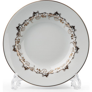 Набор тарелок глубоких 22 см La Rose des Sables Mimosa Lierre Or (539124 947)