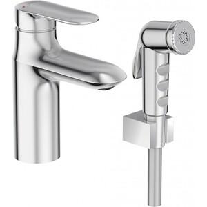 Смеситель Jacob Delafon Kumin для раковины с гигиеническим душем (E99465-CP) раковины для ванной jacob delafon