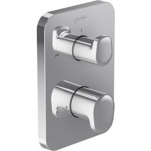Смеситель для ванны Jacob Delafon Modulo термостат (E98730-CP) смеситель для ванны термостат коллекция salute e71085 cp двухвентильный хром jacob delafon якоб делафон