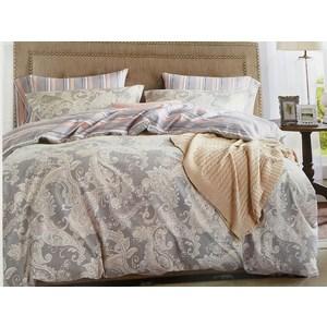 Комплект постельного белья Do and Co 1,5 сп, сатин, Sardunya (9463) комплект постельного белья ecotex 2 х сп сатин сюссан кгмсюссан