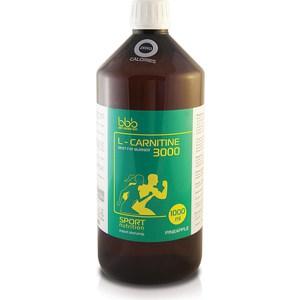 Сжигатель жира BBB L-Carnitine 3000 Liquid ананас Zero Calories (жидкие концентраты) 1000 мл