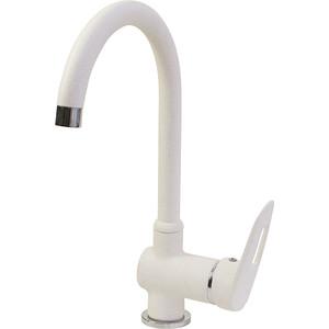 Смеситель для кухни Mixline ML-GS04 белый 331 (4620031444190) смеситель для кухни harte однорычажный белый л 4204 331