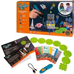 3D Ручка WobbleWorks 3Doodler Start МЕГА, большой подарочный набор pep start подарочный набор