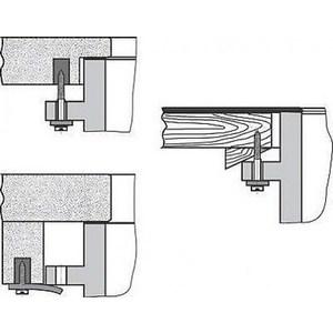Фотография товара крепление для раковины Laufen под столешницу (8.9904.0.000.000.1) (798483)