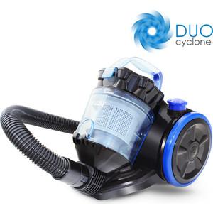 Пылесос Ginzzu VS424 черн/синий видеонаблюдение ginzzu hk 420d