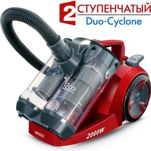 Пылесос Ginzzu VS439 сер/красный