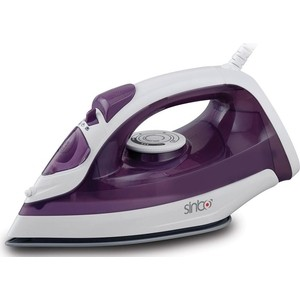 Утюг Sinbo SSI 6602, фиолетовый/белый утюг sinbo ssi 6602 1800вт фиолетовый белый