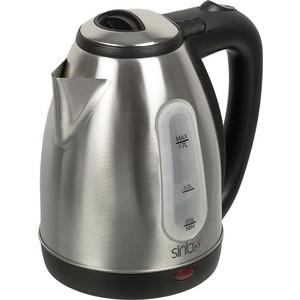 Чайник электрический Sinbo SK 7362, серебристый чайник sinbo sk 7358 2200 вт 1 8 л пластик слоновая кость
