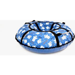 Тюбинг Hubster Люкс Pro Мишки синие, 105см (во4341-2) цена
