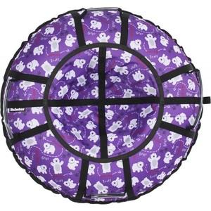 Тюбинг Hubster Люкс Pro Мишки фиолетовые, 105см (во4340-2)