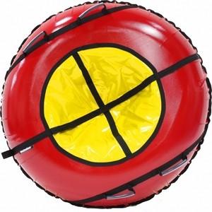 Фотография товара тюбинг Hubster Ринг Plus красный/желтый, 105см (во4307-2) (798585)