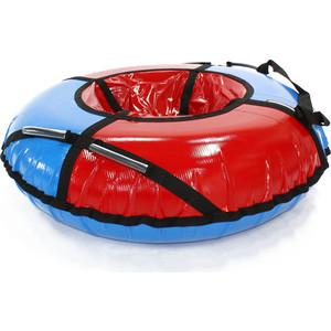 Тюбинг Hubster Sport Plus красный/синий, 120см (во4188-2) тюбинг hubster sport plus красный синий 90см во4188 3