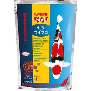 Корм SERA Professional KOI Spring / Autumn Food весенний и осенний чипсы для кои 1кг корм для птиц vitakraft menu vital для волнистых попугаев основной 1кг