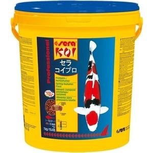 Корм SERA Professional KOI Spring / Autumn Food весенний и осенний чипсы для кои 7кг