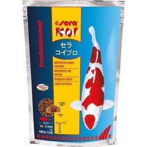 Корм SERA Professional KOI Summer Food летний чипсы для кои 1кг